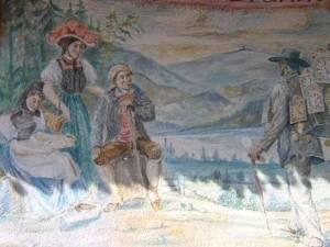 Black Forest Mural on wall (c) satisshroff 2009