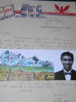 A letter from Nepal
